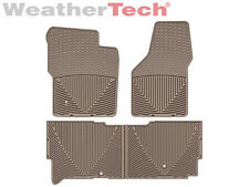 WeatherTech All-Weather Floor Mats Ford Super Duty Ext. Cab - 2008-2010 - Tan