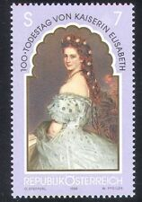 Austria 1998 Empress Elisabeth/Royal/Royalty/People/Art/Paintings 1v (n38757)
