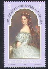 Austria 1998 Empress Elisabeth/Royal/Royalty/People/Art/Paintings 1v (n38757)