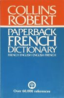 Collins-Robert Paperback French Dictionary: French-English / English-French By