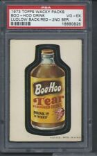 WACKY PACKAGES BOO HOO DRINK PSA 4 RED LUDLOW BACK RARE