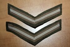 Canada LANCE-CORPORAL RANK STRIPES, Khaki Chevrons