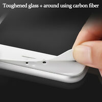 3D WHITE Full Cover Tempered Glass Curved Screen Protector For iPhone 7