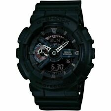 Casio GA-110MB-1AER G-Shock Military Black Alarm Chronograph Watch