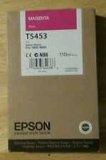 09-2016 New Genuine Epson T5453 110ml Magenta Ink for Stylus Pro 7600, 9600