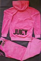 NWT Juicy Couture Velour Tracksuit in Pink, Relaxed Hoodie & Pant, Large, $236