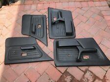 BMW E30 Black Door Panels (sedan)