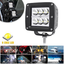 "CREE LED 6SMD 3"" Work Light Driving Spot Lamp Car OffRoad Motorcycle Universal"
