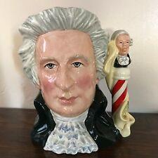 Royal Doulton Character Jug-Mozart-Rare/Great Composers Series/ Classical music