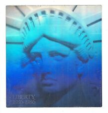 Statue of Liberty Foil Sticker 100th Anniversary Hologram American New York City