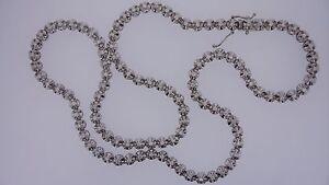 Mens 30 Inch Tennis Chain 106 Diamonds 6 Carat 65 Grams 10k Solid Gold Video