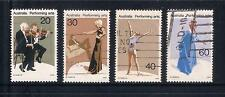 (UXAU033) AUSTRALIA 1977 Performing Arts fine used complete set