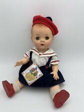 12� Hard Plastic Walker Block Karen? Nancy Ann Addie? 1950 Vintage Baby Doll