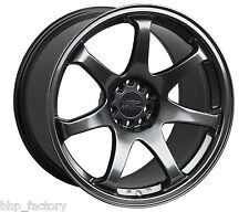 "XXR 551 17"" x 9.25 ET36 5x100 5x114.3 CHROME BLACK WIDE RIMS ALLOYS WHEELS Z2904"