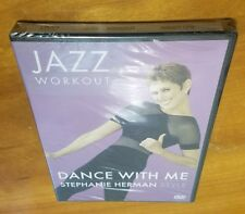 Dance With Me: Stephanie Herman Jazz Workout (DVD) style fitness exercise NEW