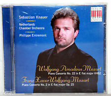 CD Mozart Piano Concerto - SEBASTIAN KNAUER / Netherlands Chamber Orchestra