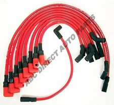 GM V8 94-96 High Performance 10 mm Red Spark Plug Ignition Wire Set 48356R