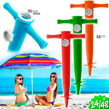 Spike Support Wedge Base Beach Parasol Pool Support For Beach Umbrella