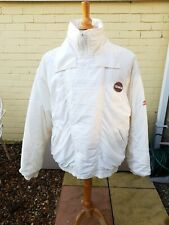Vintage Toyota Team Technician Jacket White Medium