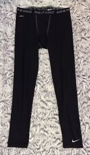 Men's NIKE PRO Size 2XL XXL Athletic Tights Pants Activewear Compression Black