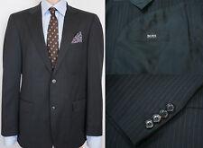 Hombre Hugo Boss Chaqueta Americana Cooper Reno Lana Color Negro L IT50 Us UK 40