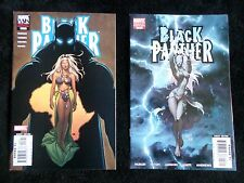 Black Panther #8 & #18 Rare Sexy Storm Frank Cho & Michael Turner Variants! VF