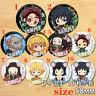 "Anime Demon Slayer Kimetsu no Yaiba badges Pins Schoolbag 5.8CM(2.3"") cosplay"