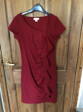 Monsoon Robe Rouge Taille 8 BN Nouveau  s Party 5248