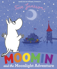 Moomin and the Moonlight Adventure. Picture book. Stocking filler. RRP £6.99