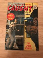 Caught #5 Awesome Crime Pre-Marvel Comic See The Pics!