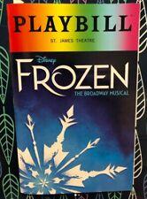 Disney Frozen Broadway Musical Gay Pride Playbill Pridebill 2019 Edition