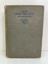 VTG Gone With the Wind By Margaret Mitchell FIRST EDITION (June, 1936) Novel