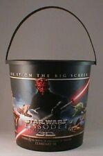 Star Wars Episode I 3D Movie Theater Exclusive 130 oz Plastic Popcorn Tub