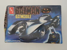 Amt Batman Batmobile 1/25 Model Kit 1989 Kit #6877 Niob R19141