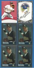 (25) Miguel Tejada 1997 Donruss Signature Bowman Chrome Bowman Best Bowman Int.