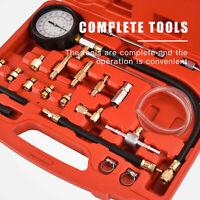 140 PSI Fuel Injection Pressure Injector Pump Tester Test Pressure Gauge Kit