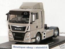 MAN TGX EURO 6 LX SILVER METALLIC TRACTEUR SEUL ELIGOR 1/43 Ref 115120