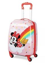 """Disney Store MINNIE MOUSE ROLLING LUGGAGE 18"""" BNWT💫💫💫💫"""