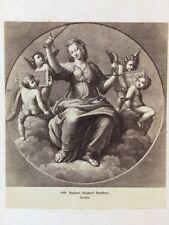 Victorian CDV Carte De Visite Photo: Artwork/Engraving #144: Raphael