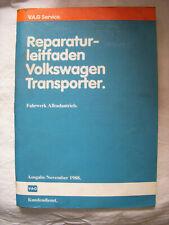 T2 T3 Syncro+Joker+Multivan ALLRAD Fahrwerk Werkstatthandbuch Reparaturhandbuch