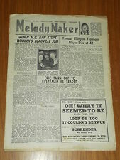 MELODY MAKER 1946 #680 AUG 3 JAZZ SWING MAURICE WINNICK ERIC TANN SAM NANTON