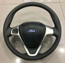 FORD FIESTA Mk7 2008-2014 3 SPOKE STEERING WHEEL WITH AIRBAG AND BUTTONS