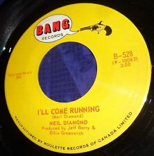 MB531 Neil Diamond I'll Come Running / Cherry Cherry 45 RPM Record