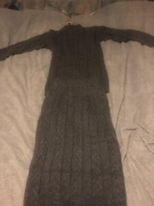 Ladies Loungewear Set jumper And Skirt SIZE S 8-10