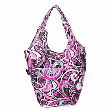 Very Lovely Bags Co. Fold Away Mini Shopper - Pink Paisley