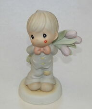 "Precious Moments ""For The Sweetest Tu-Lips In Town"" Figurine 1997 Enesco 306959"
