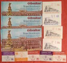 L3020 Gibraltar  Stamp 12 Booklet Selection Mint - Face Value