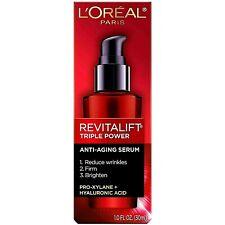 Loreal Revitalift Triple Power Anti Aging Serum 1oz. NEW