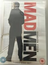 Mad Men - Series 4  - Complete (DVD, 2011, 3-Disc Set) New Sealed