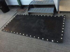Solar light rubber belting, stable matting, event rubber, weddings, parties,